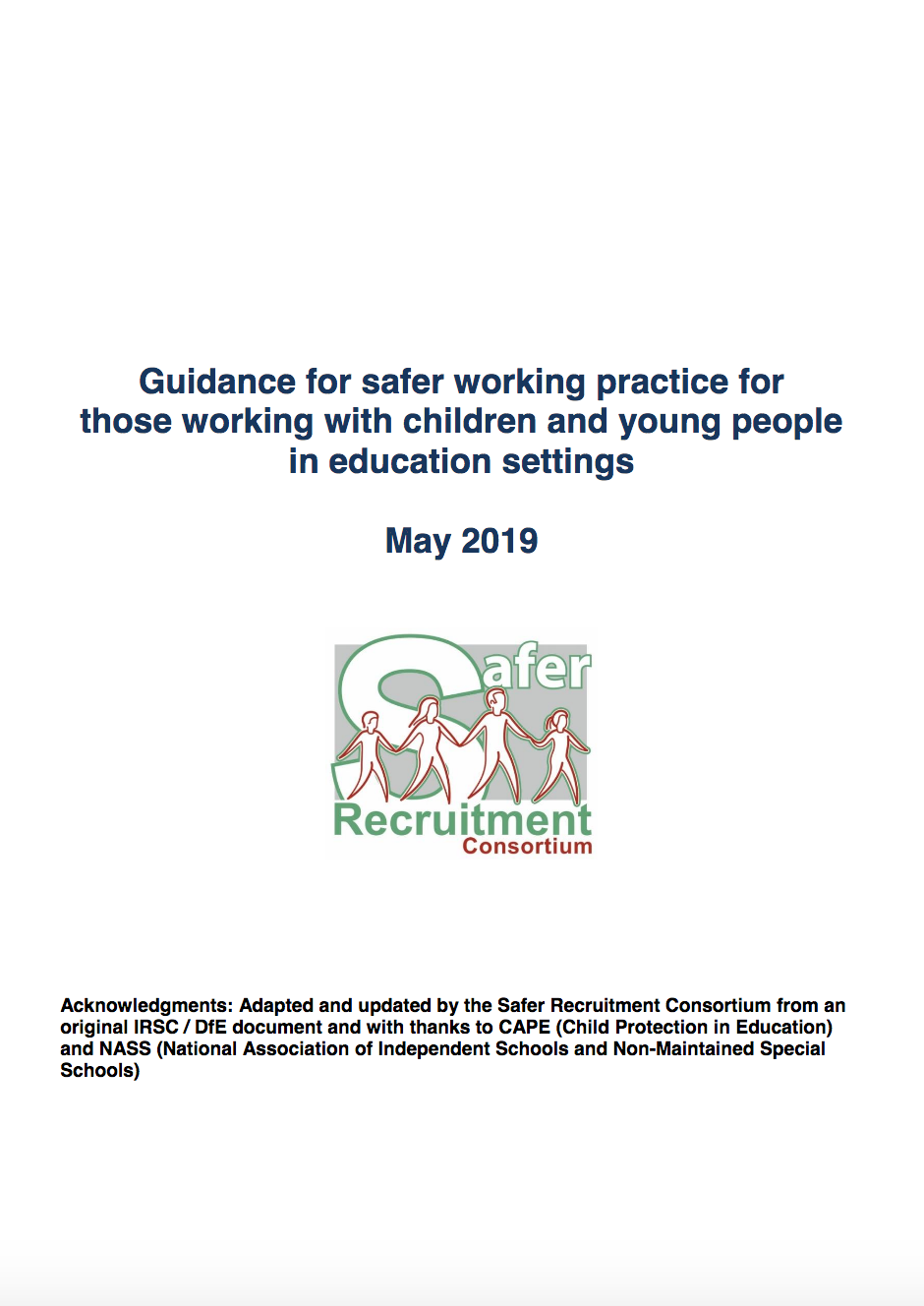 One of the most important safeguarding documents you'll ever read…